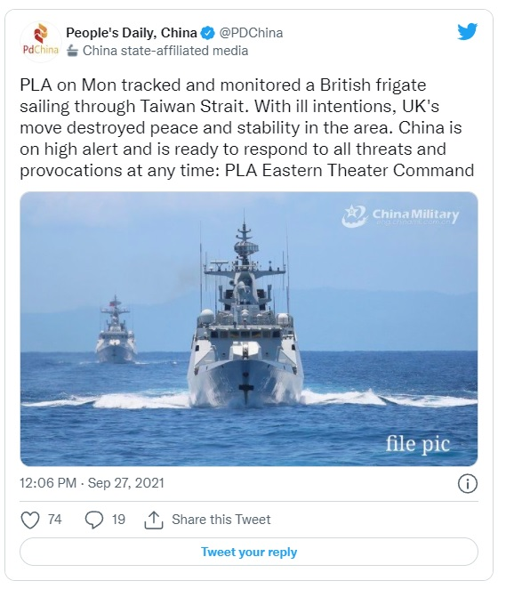 China condemns Britain for Taiwan Strait warship mission-untitled-jpg