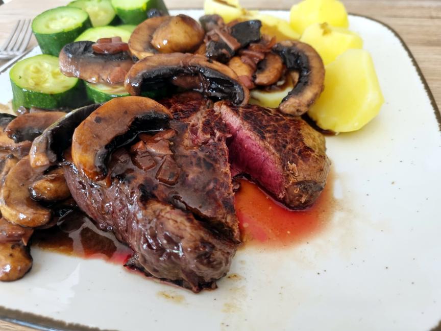 What condiments go with your steak?  Poll version-steak_bordelaise_mushroom-jpg