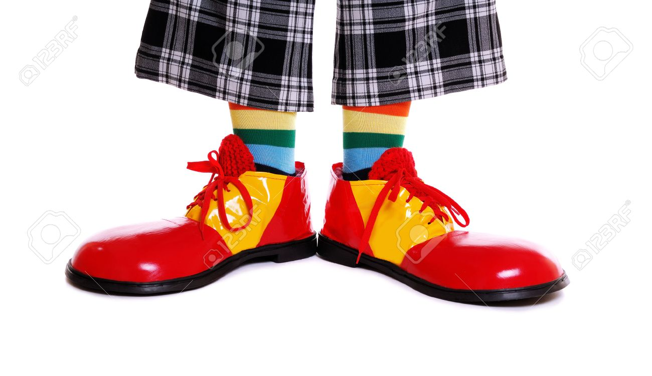 The Cup.-25839167-clown-shoes-white-background-jpg