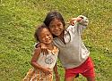 I've become a 'hansum' man in Laos...-two-kids-lake-jpg
