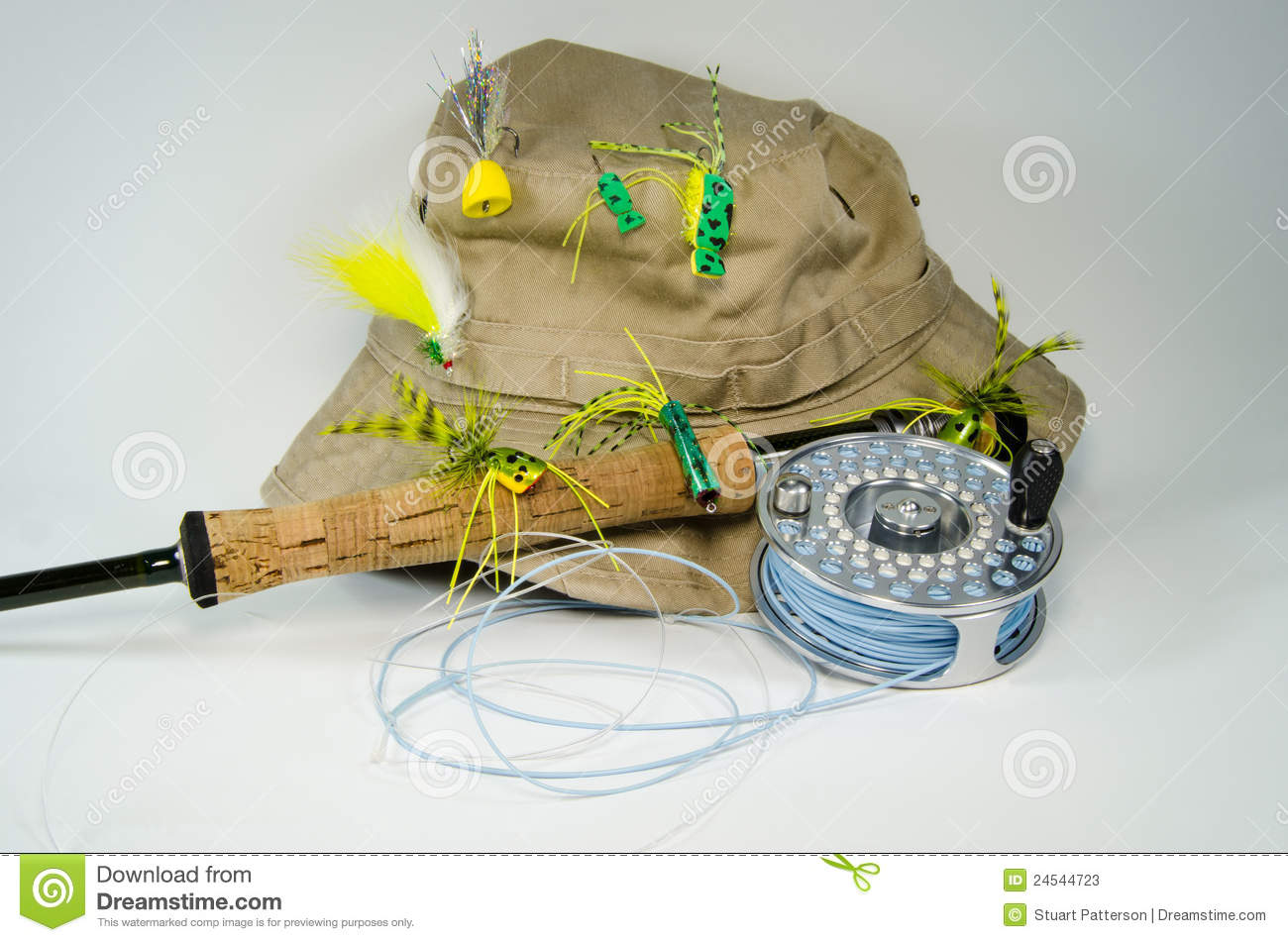 Daily or weekly cheer-fishing-hat-fly-rod-reel-bass