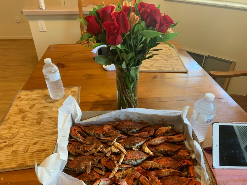 For our  anniversary I gave my wife crabs.-crabs-jpg