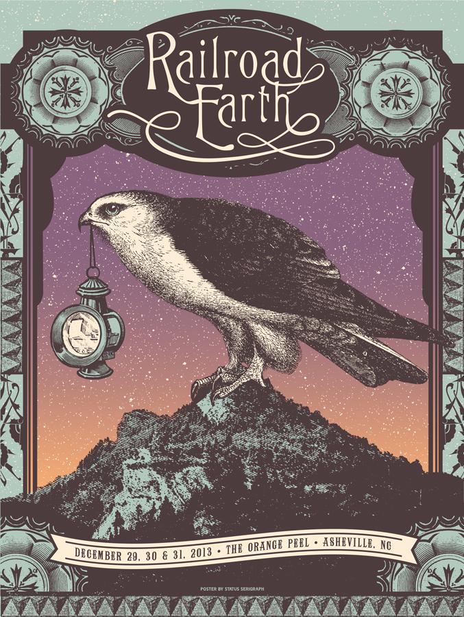 Best Poster ?-status-serigraph-railroad-earth-asheville-nc