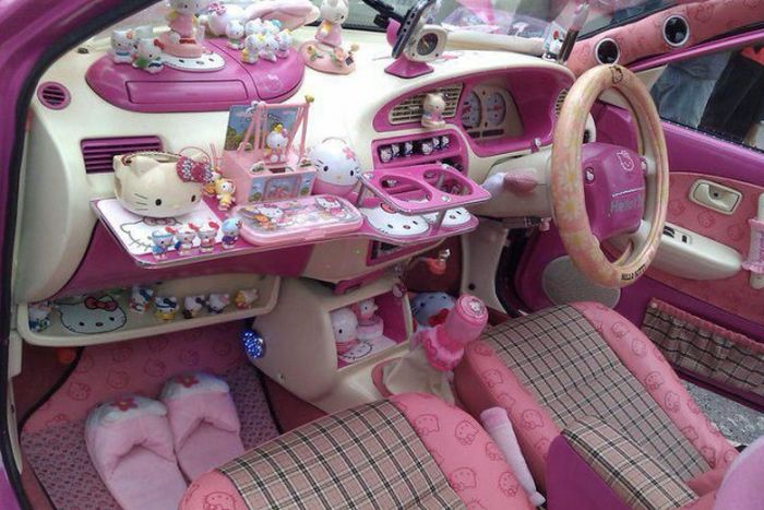 China's pink, oversized women-only car parks slammed as sexist-pink-jpg