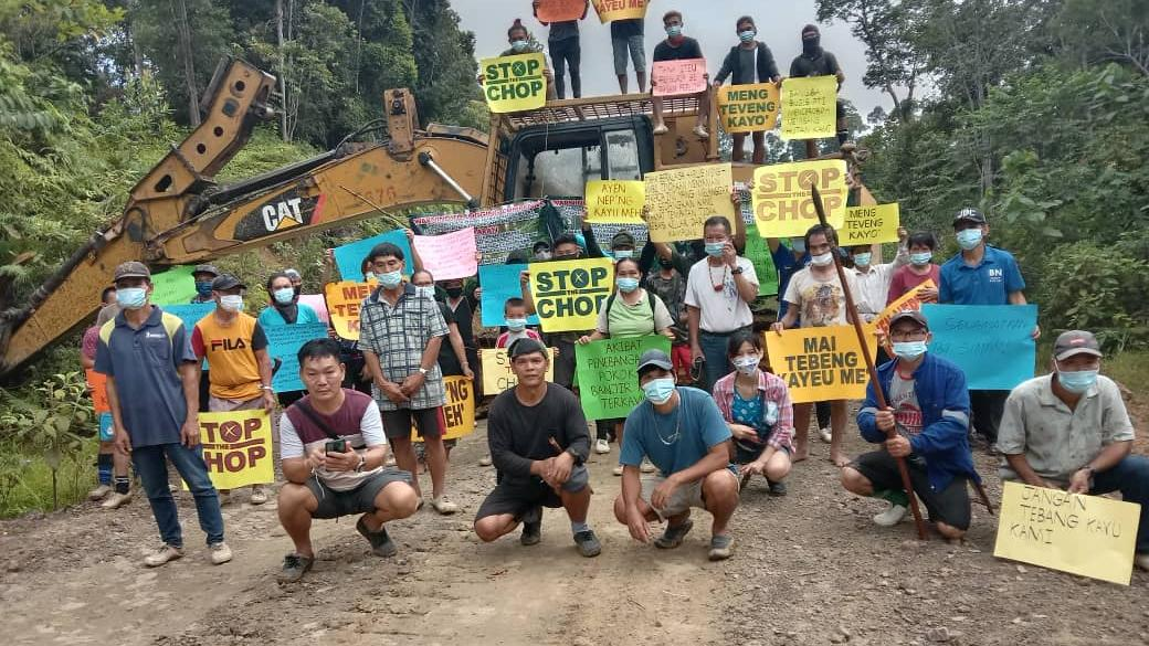 Post a photo a week, of anything/anywhere-borneo-anti-logging-jpg