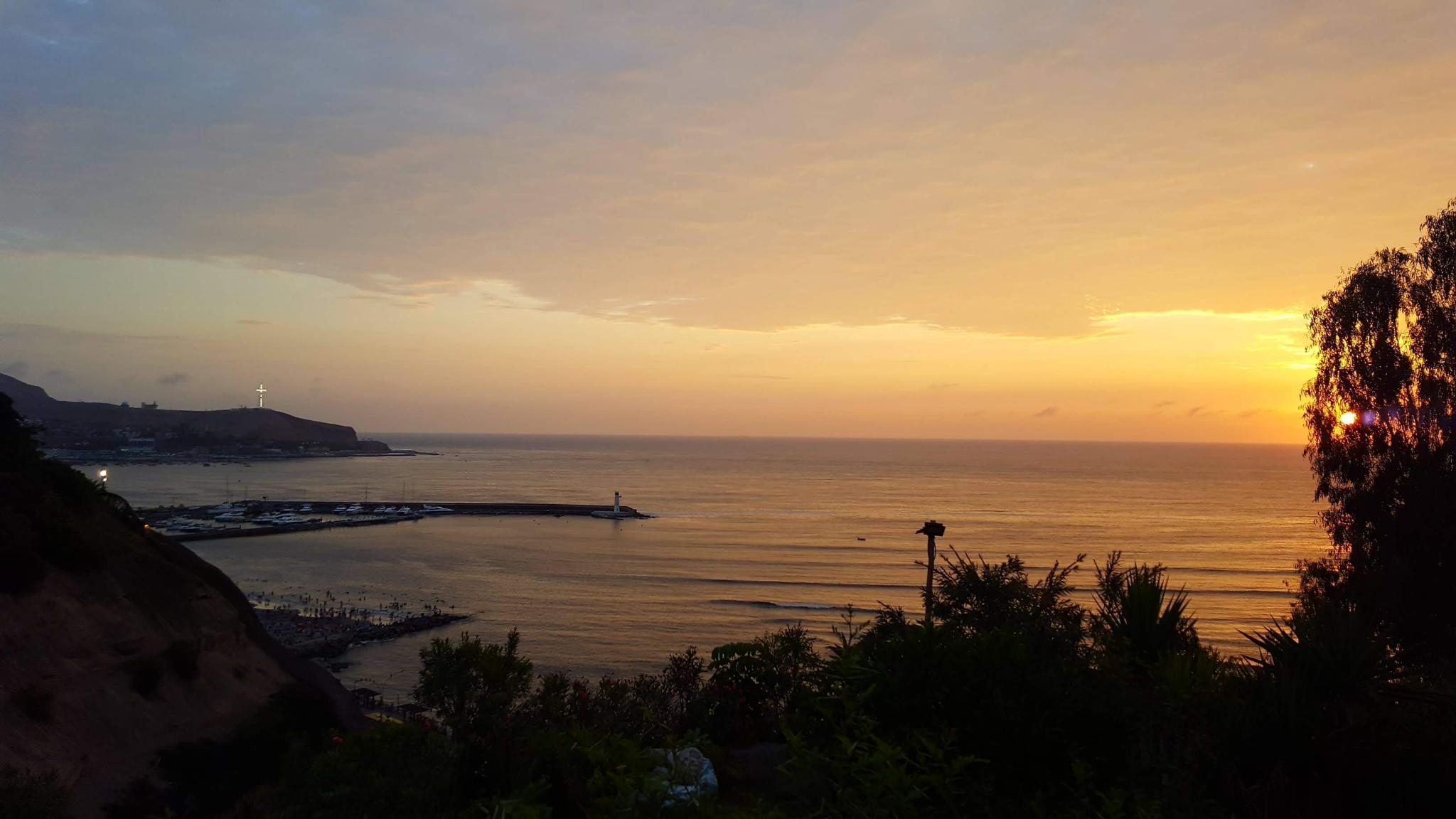 Peru: Lima, Cusco and Machu Picchu-cross-sunset-jpg