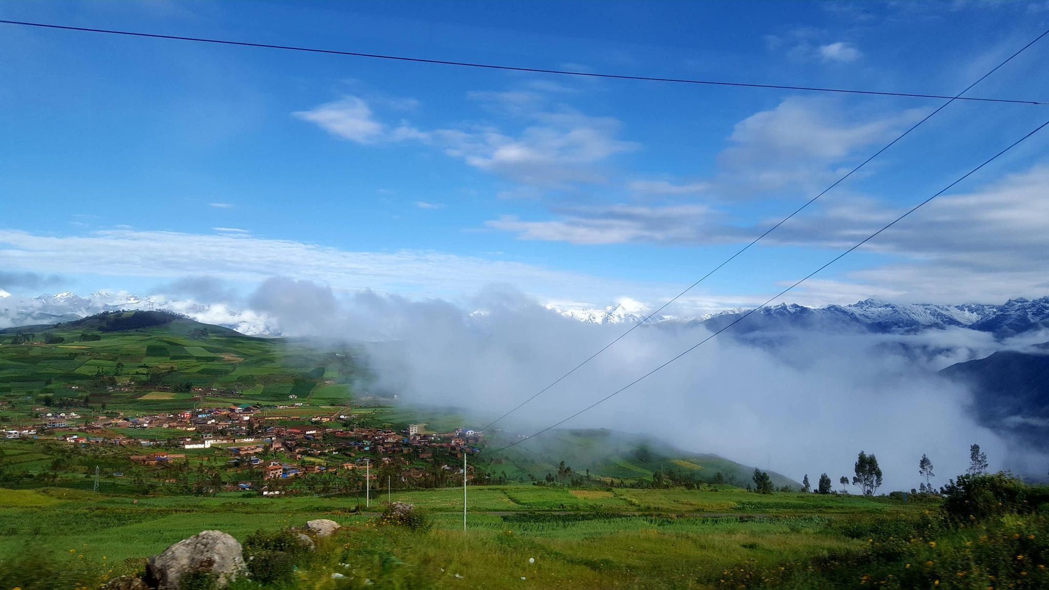 Peru: Lima, Cusco and Machu Picchu-mountains-villages-jpg