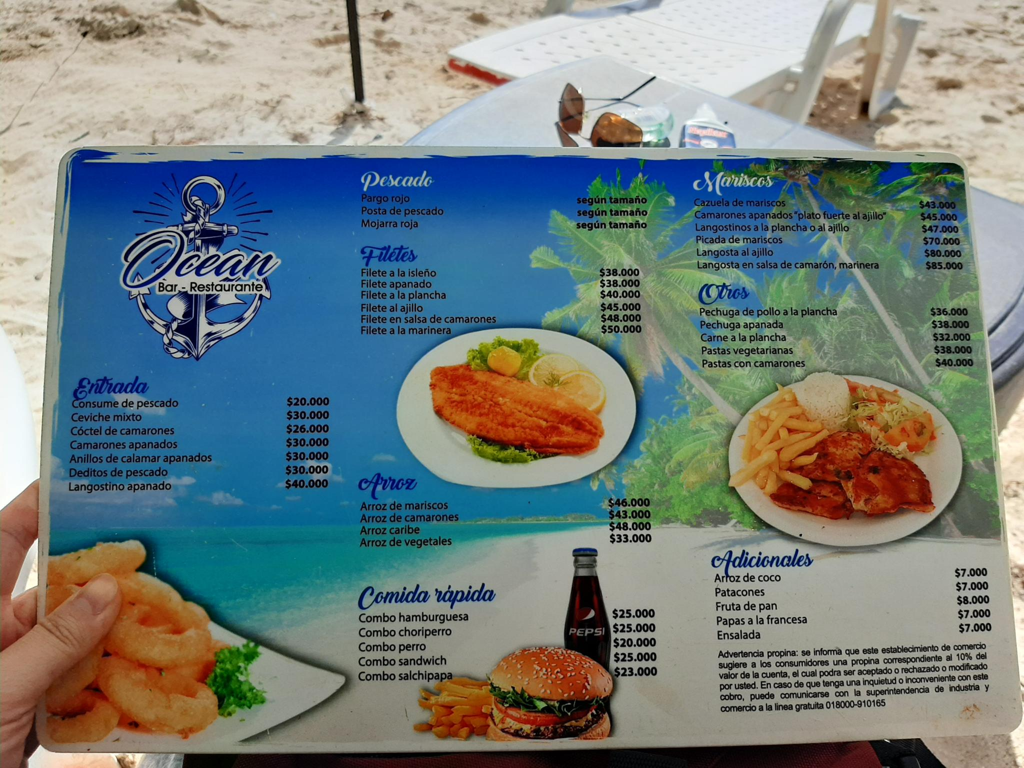 Notes from a small island-menu-jpg