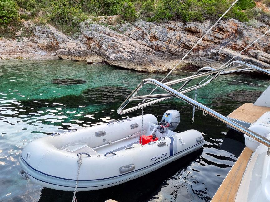 Week Sailing in Croatia-dinghy-jpg