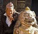 Anyone been up to Nepal  recently?-old-man-statue-jpg