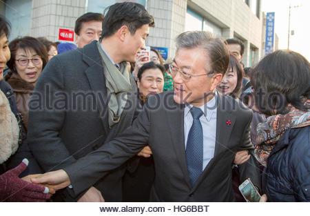 North Korea ready to walk away from Trump summit.-moon-jae-jan-3-2017-people