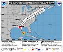 Tropical Storm Nate Moves Over Nicaragua - killing at least 22-hurricane-nate-forecast-track-4-am