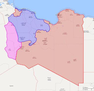Troubles in Libya-libyamap20190101-s-jpg