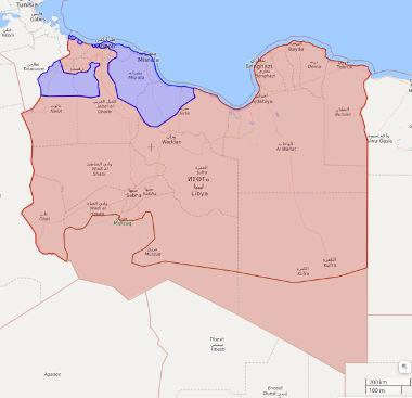 Troubles in Libya-libyamap20190406-s-jpg