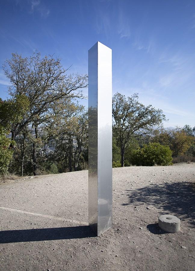 Mysterious 'obelisk' in US desert draws wild theories-2020-pine-mountain-obelisk-13-jpg