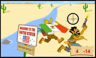 méxico videojuegos border patrol game
